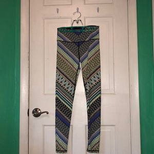 Victoria's Secret Sport Multi Colored Leggings